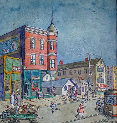 Ethel Spears Ethel Spears Artists Modernism in the New City Chicago Artists