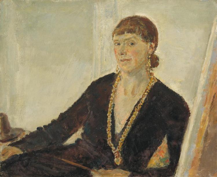 Ethel Walker SelfPortrait Leslie Hurry 1944 Tate