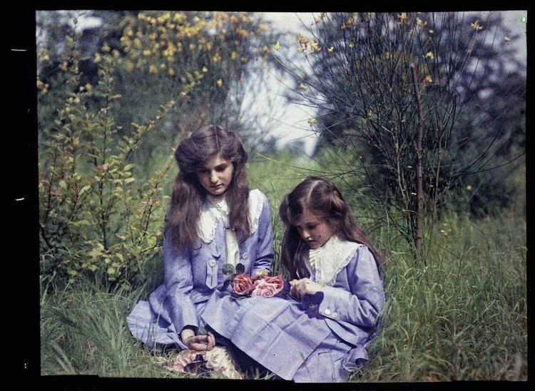 Etheldreda Laing 1910 An innocent Edwardian childhood in color