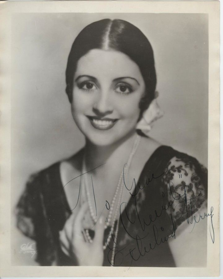 Ethelind Terry Ethelind Terry Broadway Star of Florenz Ziegfelds Rio Rita