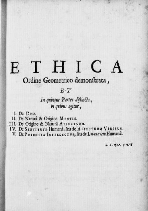 Ethics (Spinoza)