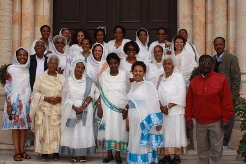 Ethiopian Catholic Church Ethiopian Catholics Blessed by their Pilgrimage Travelujah