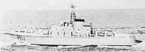 Ethiopian Navy PC11 large patrol craft 19581962 Ethiopian Navy