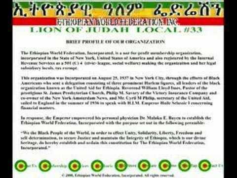 Ethiopian World Federation httpsiytimgcomviz92xCjUYw0chqdefaultjpg