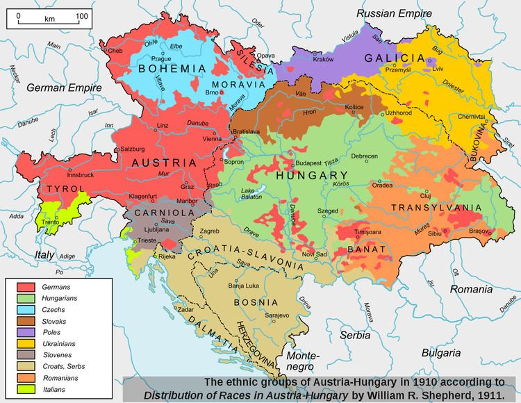 Ethnic and religious composition of Austria-Hungary