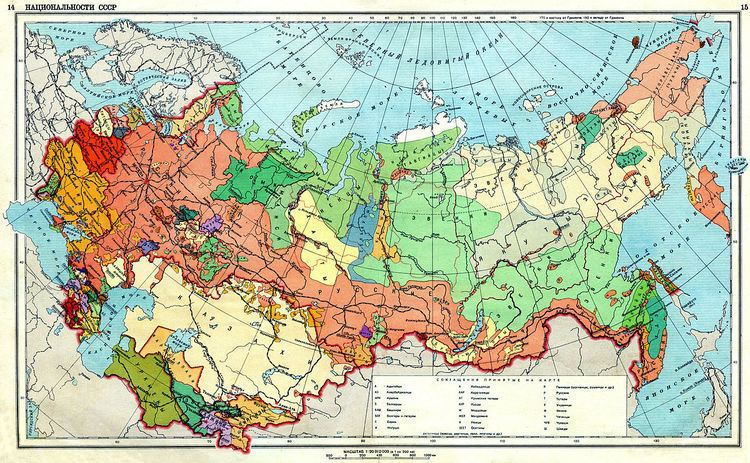 Ethnic conflicts in the former Soviet Union