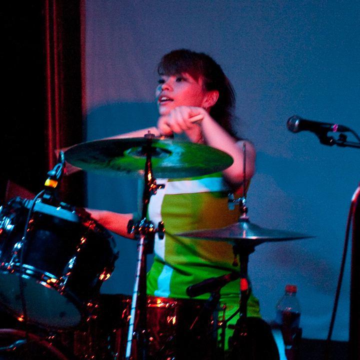 Etsuko Nakanishi ongoing photo by Tim Bray Shonen Knife