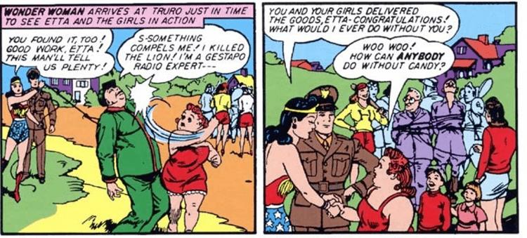 Etta Candy Lucy Davis As Etta Candy in Wonder Woman The Mary Sue