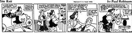 Etta Kett Etta Kett Newspaper Comic Strips