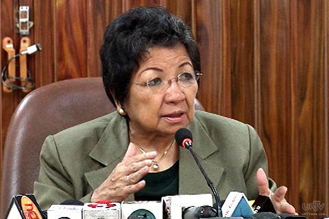 Etta Rosales DzBB No more CHR probe vs 39Bistek39 Politiko