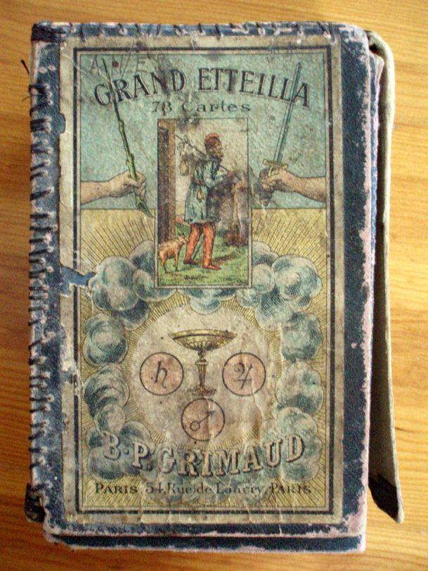 Etteilla Grand Etteilla 1890 Tarotpuu
