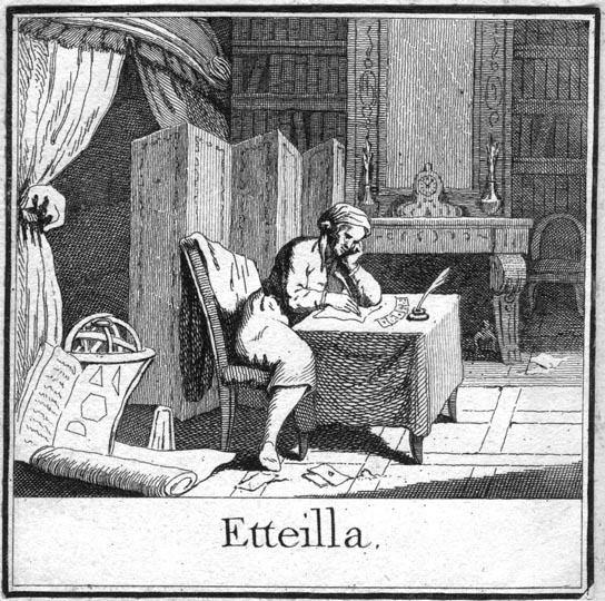 Etteilla A question about JeanBaptiste Alliette Etteilla