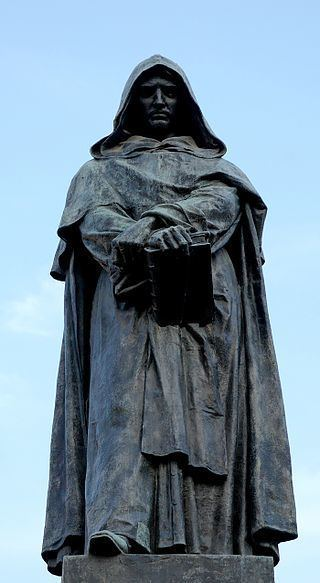 Ettore Ferrari bensozia Ettore Ferrari Statue of Giordano Bruno