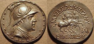 Eucratides I Eucratides I Wikipedia