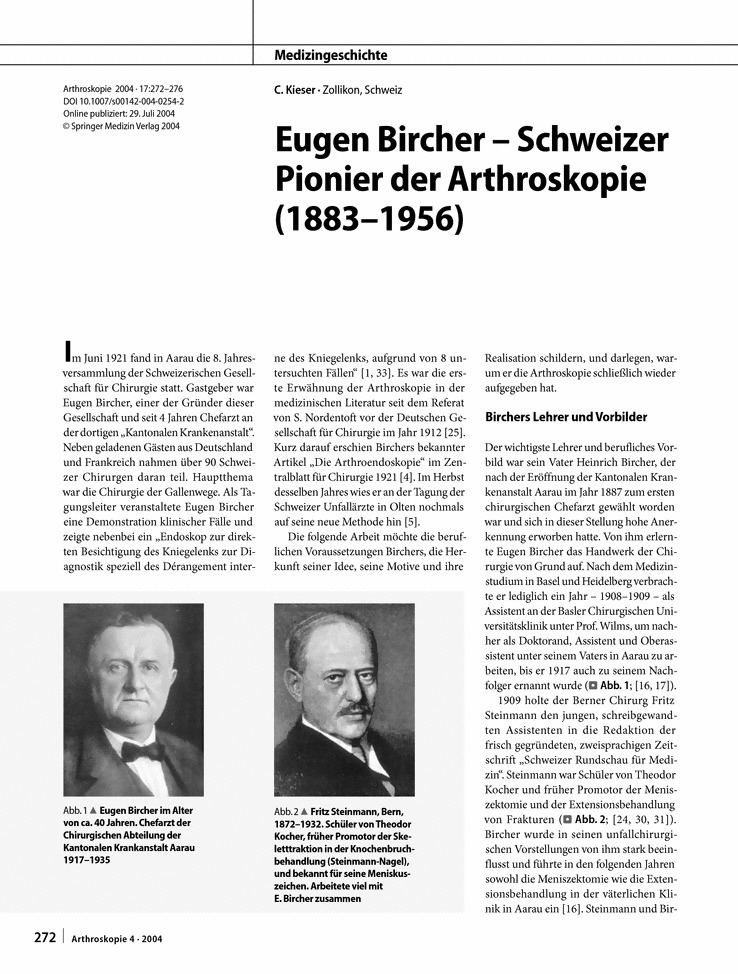Eugen Bircher linkspringercomarticle1010072Fs00142004025