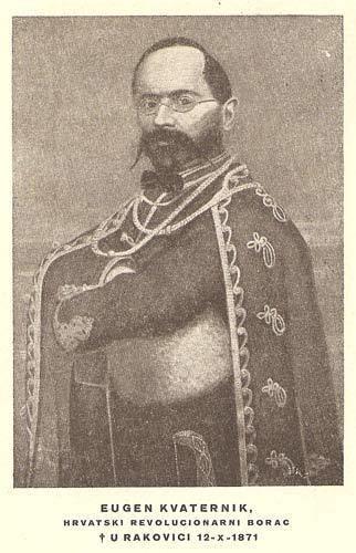 Eugen Kvaternik 11 LISTOPADA 1871 SMRT EUGENA KVATERNIKA USTAE 19