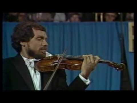 Eugene Fodor (violinist) Eugene Fodor Paganini Violin Concerto no 1 part 1 of