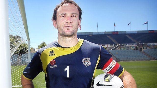 Eugene Galekovic Adelaide United captain Eugene Galekovic looks to Iker