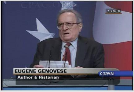 Eugene Genovese September 2012