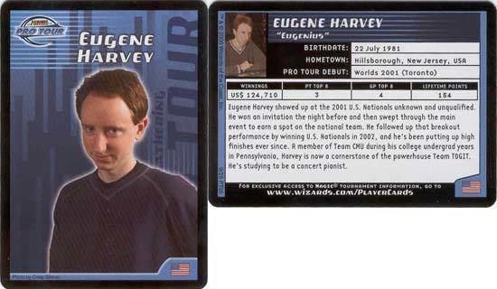 Eugene Harvey Eugene Harvey Pro Player Cards