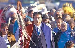 Eugene Little Coyote Eugene Little Coyote takes over as Northern Cheyenne tribal