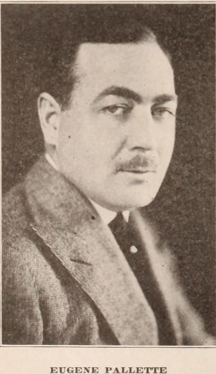 Eugene Pallette Eugene Pallette a 39Corker39 of a Silent Star and a