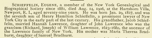 Eugene Schieffelin Eugene Schieffelin 1827 1906 Find A Grave Memorial