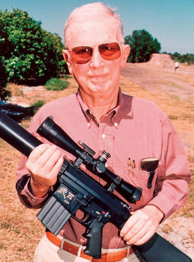 Eugene Stoner KAC SR25 000001 AR15Com Archive