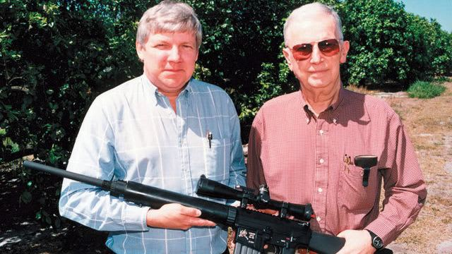 Eugene Stoner Did Eugene Stoner intend for civilians to have his AR15 design
