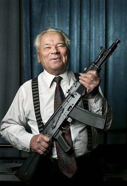 Eugene Stoner Mikhail Kalashnikov Inventor of AK47 Assault Rifle Dies