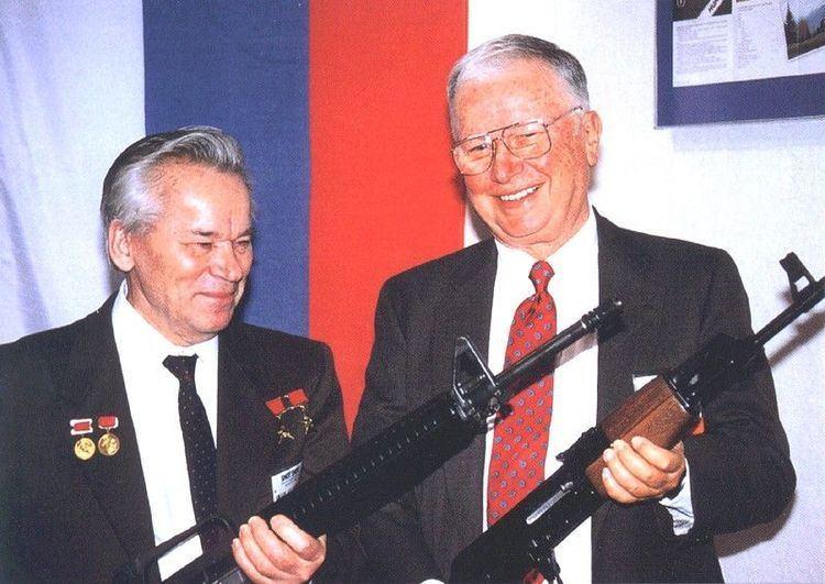 Eugene Stoner Firearms designers Mikhail Kalashnikov AK47 and Eugene Stoner AR