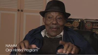 Eugene Wright Eugene Wright Oral Histories NAMMorg