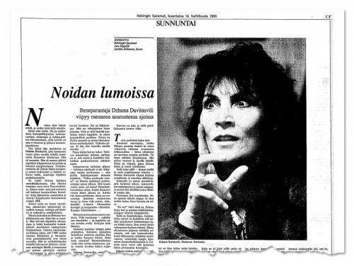 Eugenia Davitashvili Lux Fennica Kremlin henkiparantaja mystikko Dzhuna