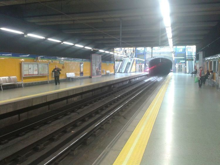 Eugenia de Montijo (Madrid Metro)