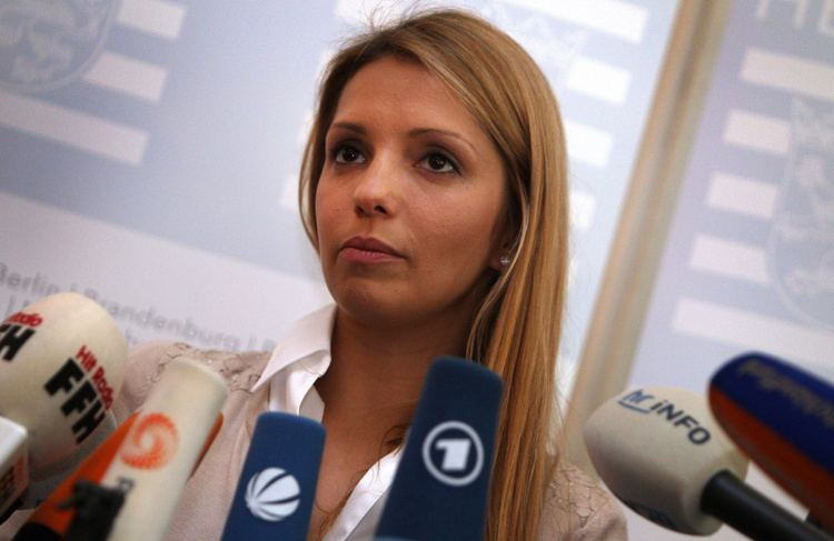 Eugenia Tymoshenko Daughter of Ukraine39s jailed exPM Tymoshenko meets German