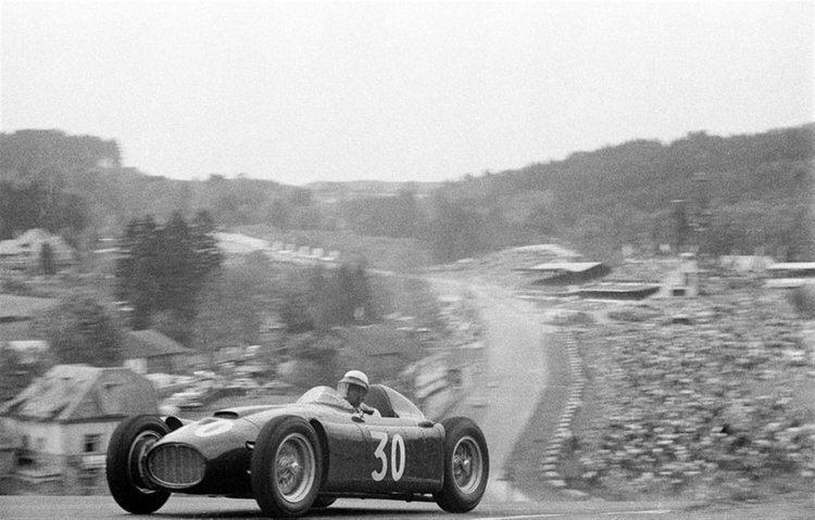 Eugenio Castellotti Eugenio Castellotti Belgium 1955 by F1history on DeviantArt
