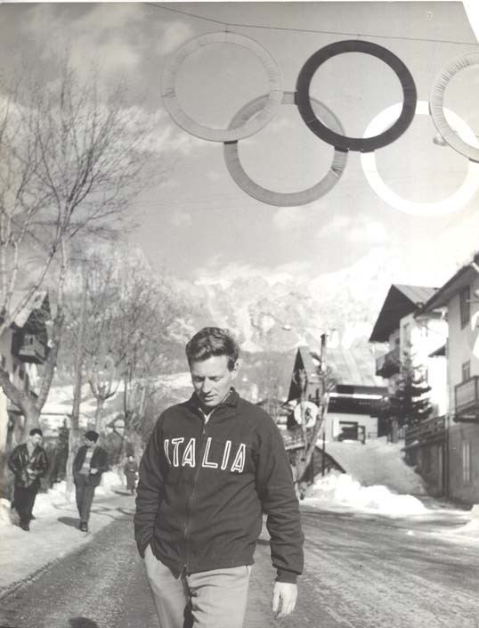 Eugenio Monti The History of the Olympic Games Eugenio Monti wins two
