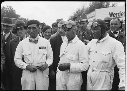 Eugenio Siena Eugenio Siena Tazio Nuvolari and Baconin Borzacchini Berlin 1933