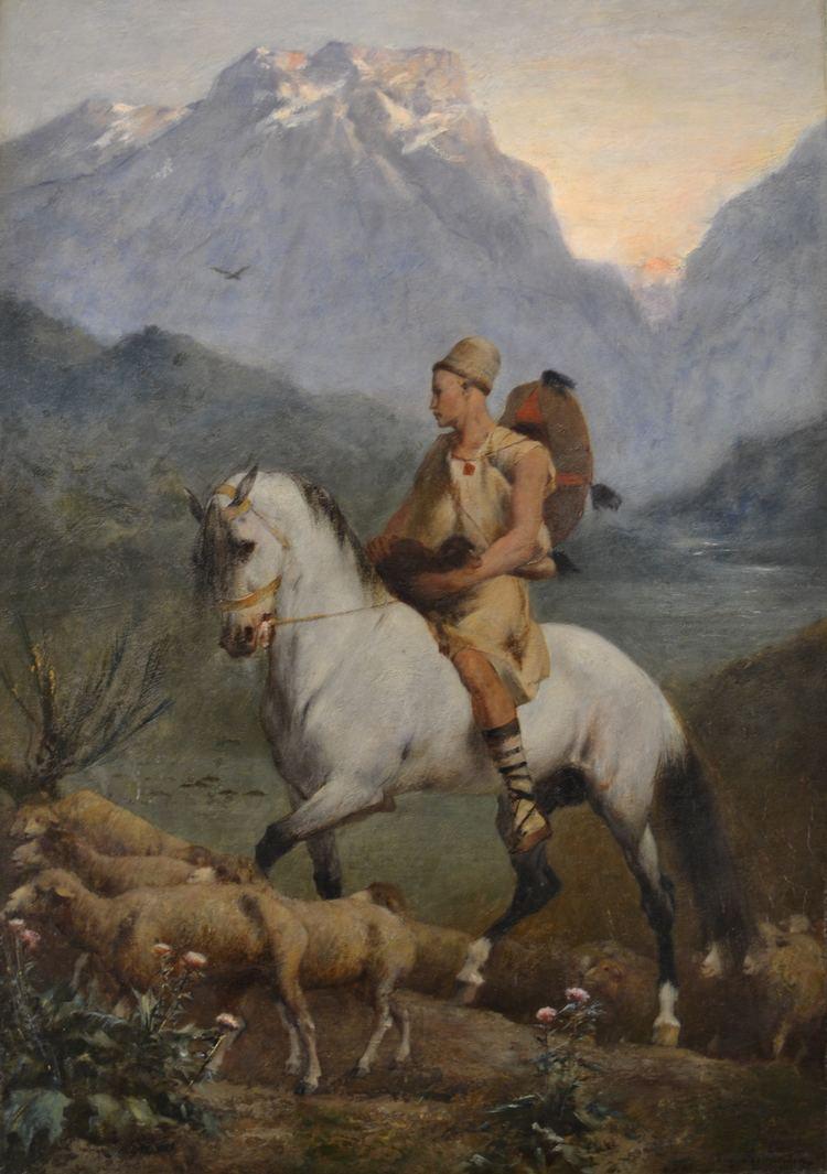 Eugène Fromentin FileKabyle Shepherd by Eugne FromentinJPG Wikimedia Commons