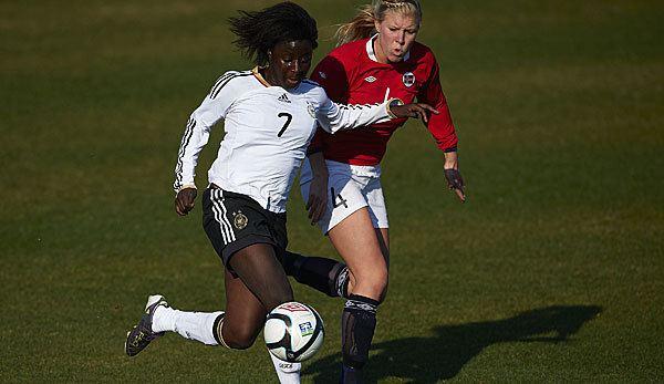 Eunice Beckmann U19Europameisterin von 2011 FCB verpflichtet Eunice