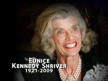 Eunice Kennedy Shriver Eunice Kennedy Shriver Sister of John F Kennedy Dead at 88 ABC News