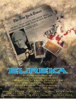 Eureka (1983 film) Eureka 1983 film Wikipedia
