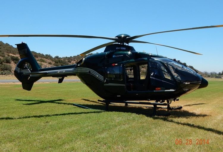 Eurocopter EC135 GoPro Flight in Executive Eurocopter EC135 N367W at Agua Dulce
