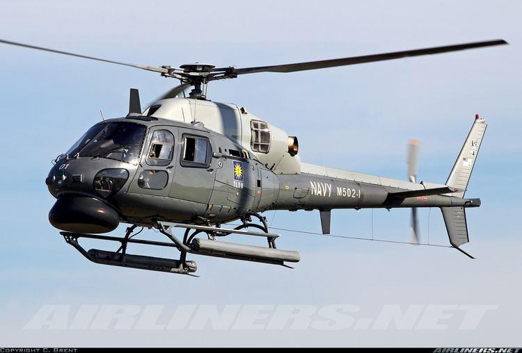 Eurocopter Fennec Eurocopter AS555SN Fennec Malaysia Navy Aviation Photo