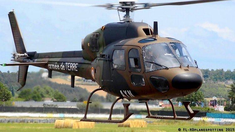 Eurocopter Fennec France Army Eurocopter AS555 Fennec FMAYN takeoff from Albi LBI