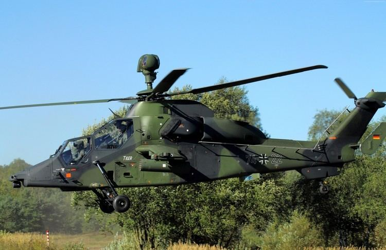 Eurocopter Tiger Eurocopter Tiger Wallpaper Military Eurocopter Tiger attack