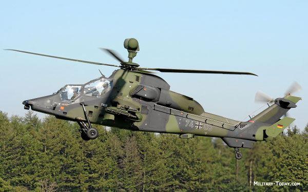 Eurocopter Tiger Eurocopter Tiger Attack Helicopter MilitaryTodaycom