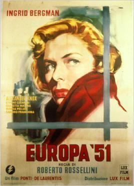 Europe 51 movie poster