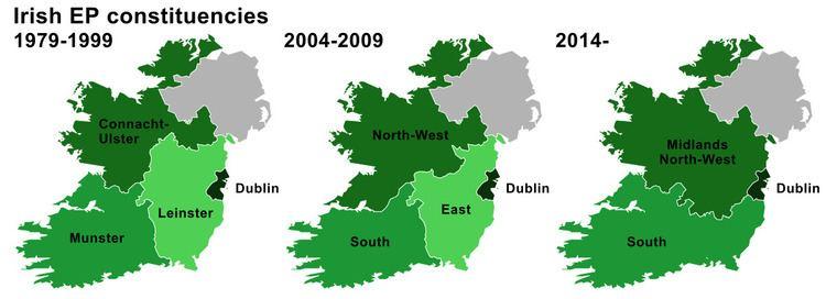 European Parliament constituencies in the Republic of Ireland