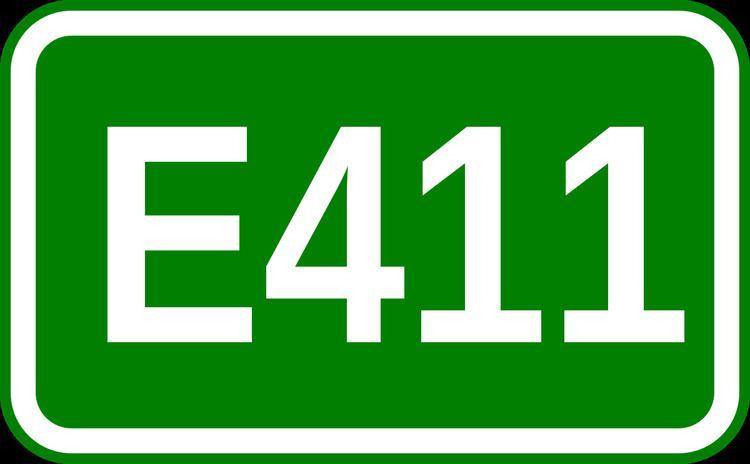 European route E411